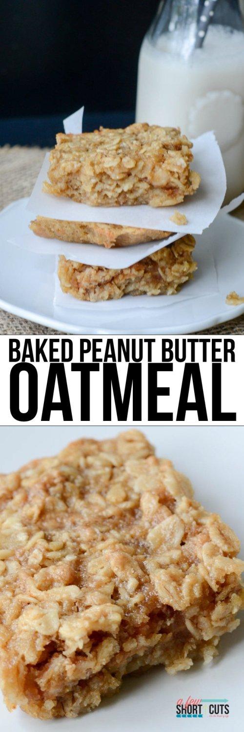 Baked-Peanut-Butter-Oatmeal-