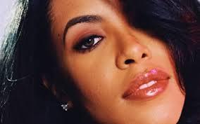 Aaliyah closeup