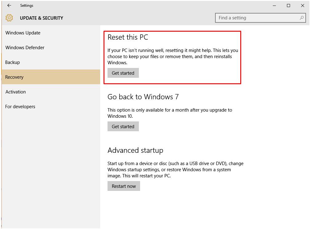 Windows 10 чистая установка