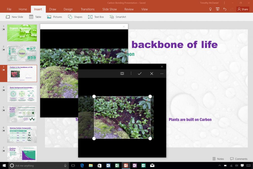 Добавление фотографий в PowerPoint