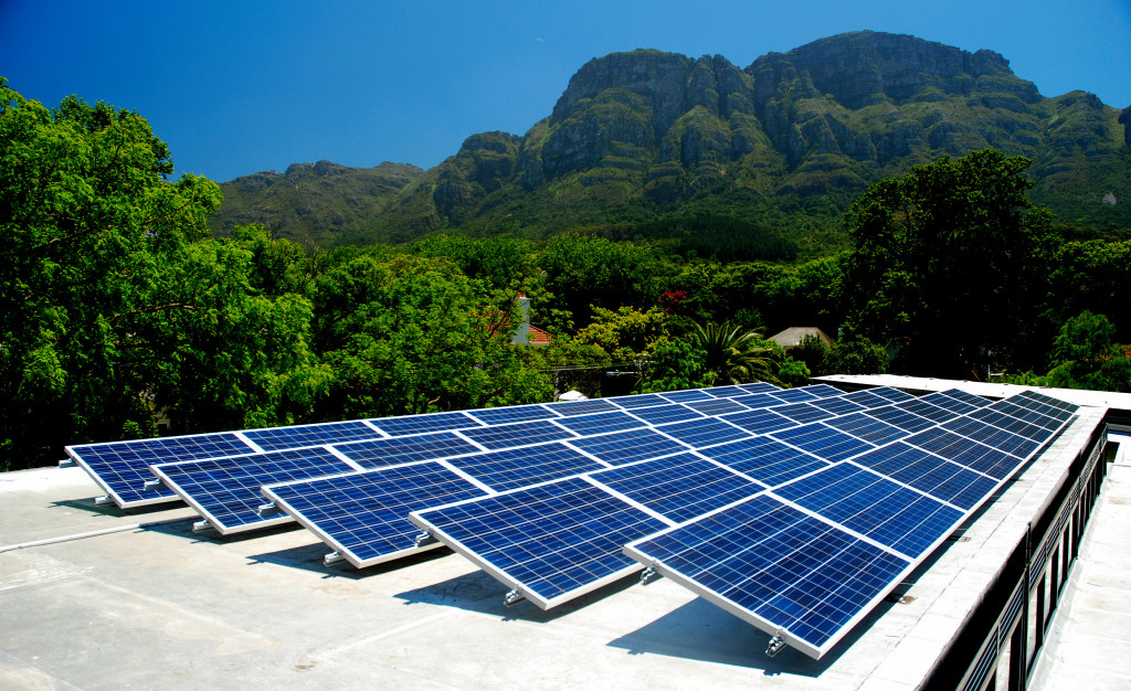 Cape Hotel Vineyard Hotel & Spa Solar Pv Power Cape Town South Africa