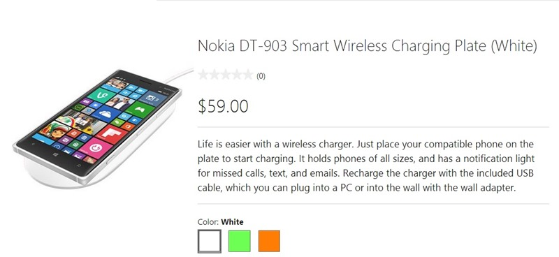 Nokia DT-903 Smart Wireless Charging Plate now on sale at the