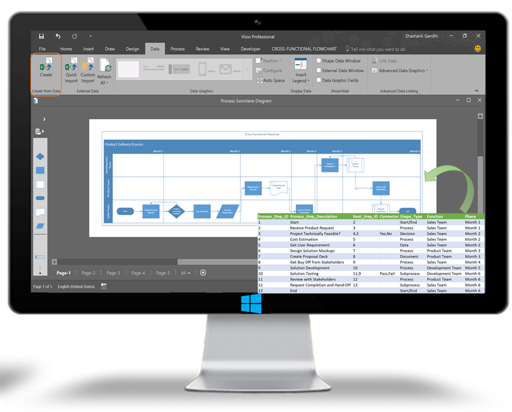 Visio Office Microsoft Brings Smart Diagrams In Visio For Office Insiders