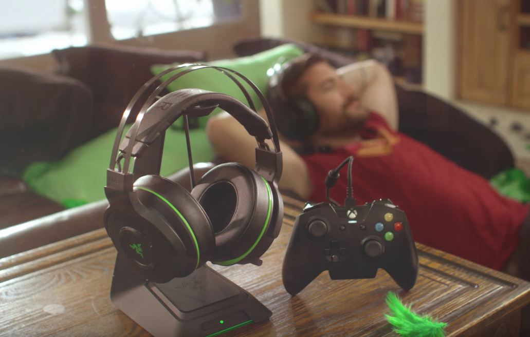 Dolby Surround Wireless Razer Announces Thresher Ultimate Wireless Headset For