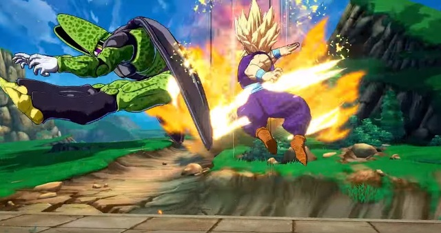 3d Wallpaper Of Dragon Ball Z Check Out Some New Dragon Ball Fighter Z Gameplay Trailers