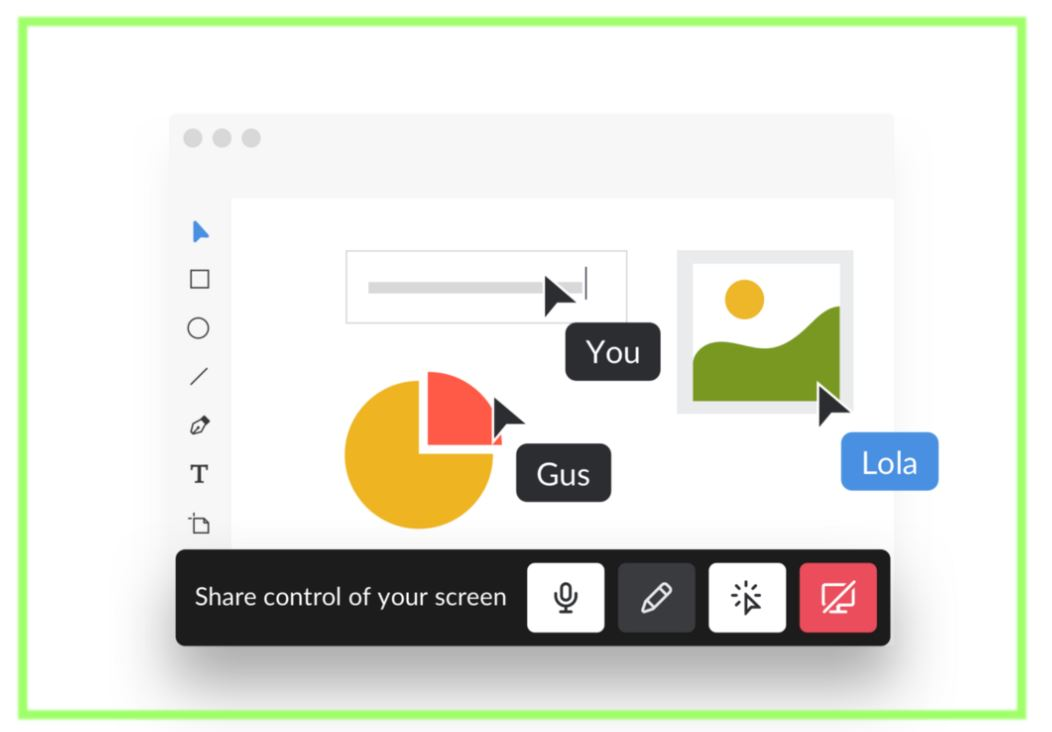 Slack announces interactive screen sharing for its desktop users
