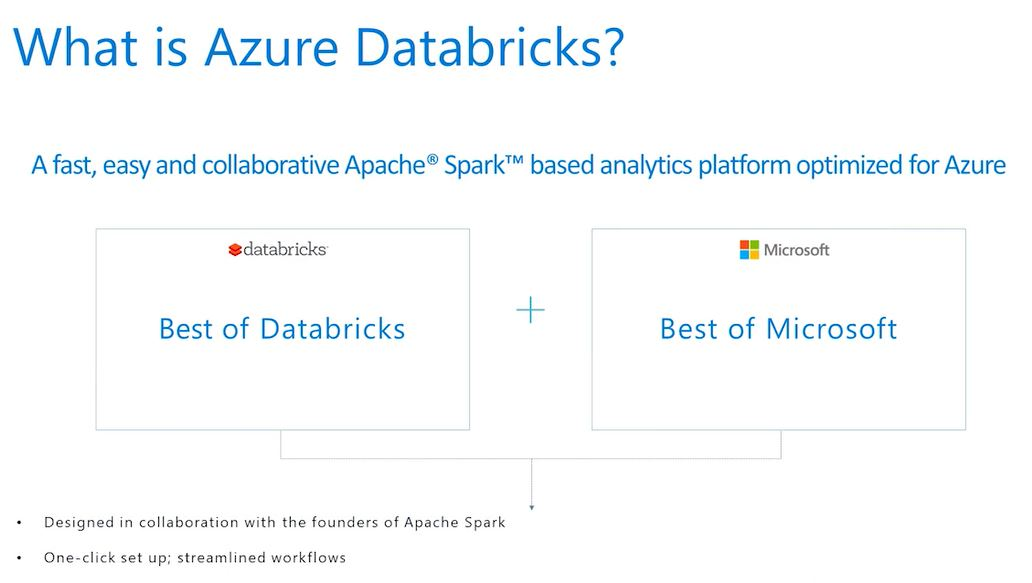 Microsoft announces Azure Databricks for highest-performance