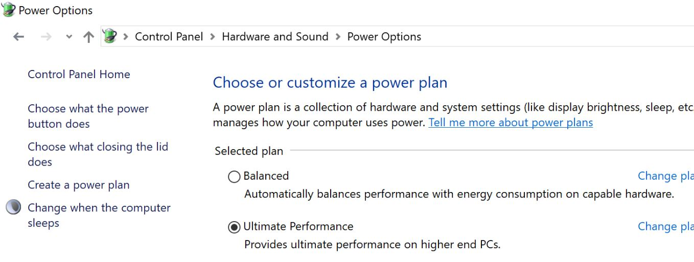 Microsoft announces new Ultimate Performance Power plan for high-end