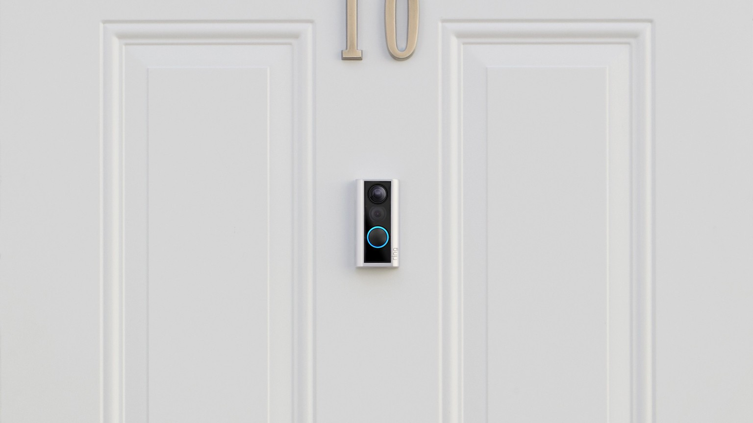 install a new doorbell button