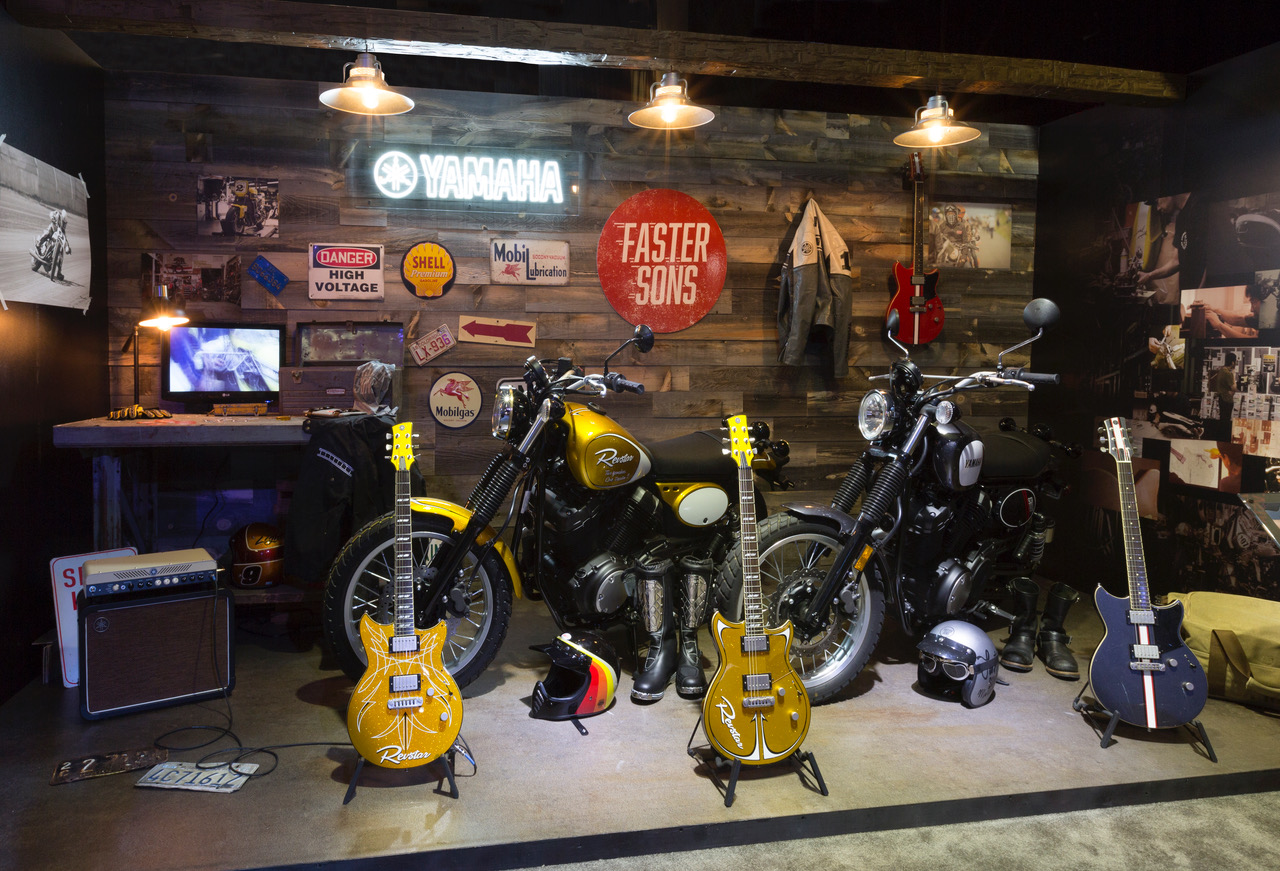Garage Yamaha Yamaha Presents Revstar Garage At Namm Show