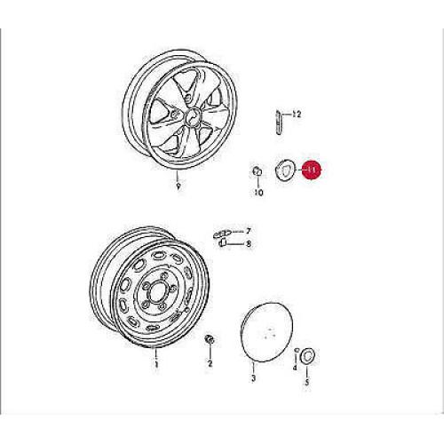 porsche 911 gt2 wheels
