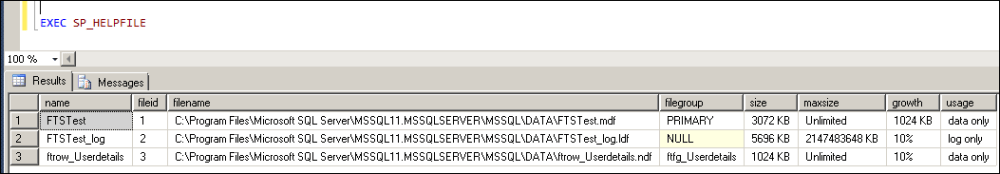 Upgrade SQL Server 2005 Full-Text Catalog to SQL Server 2012......By Backup & Restore.......Part 1 of 2 (2/2)