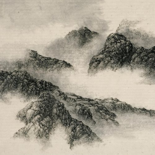 2004, Ink on Xuan Paper, 11¾ x 12⅜in; 30 x 31½cm