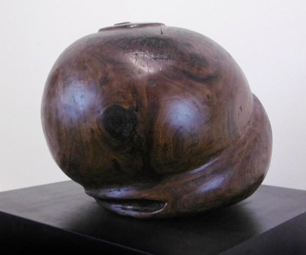 2013, Black Walnut, 17.5 diameter x 12.5 inches tall