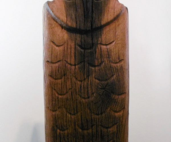 2013, Oak, 28.5 x 11.5 x 6 inches