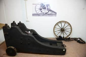 Laweta forteczna dla działa 9 cm M.75 / BC