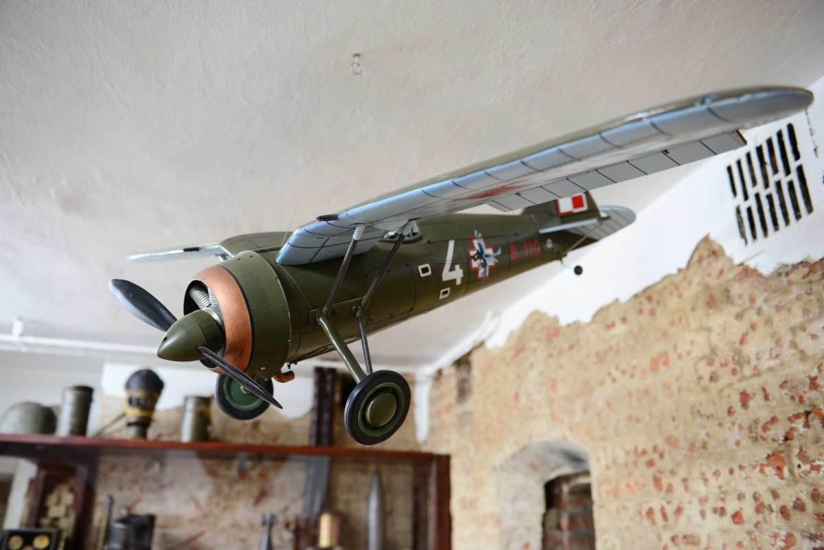 Model polskiego samolotu / fot. BC