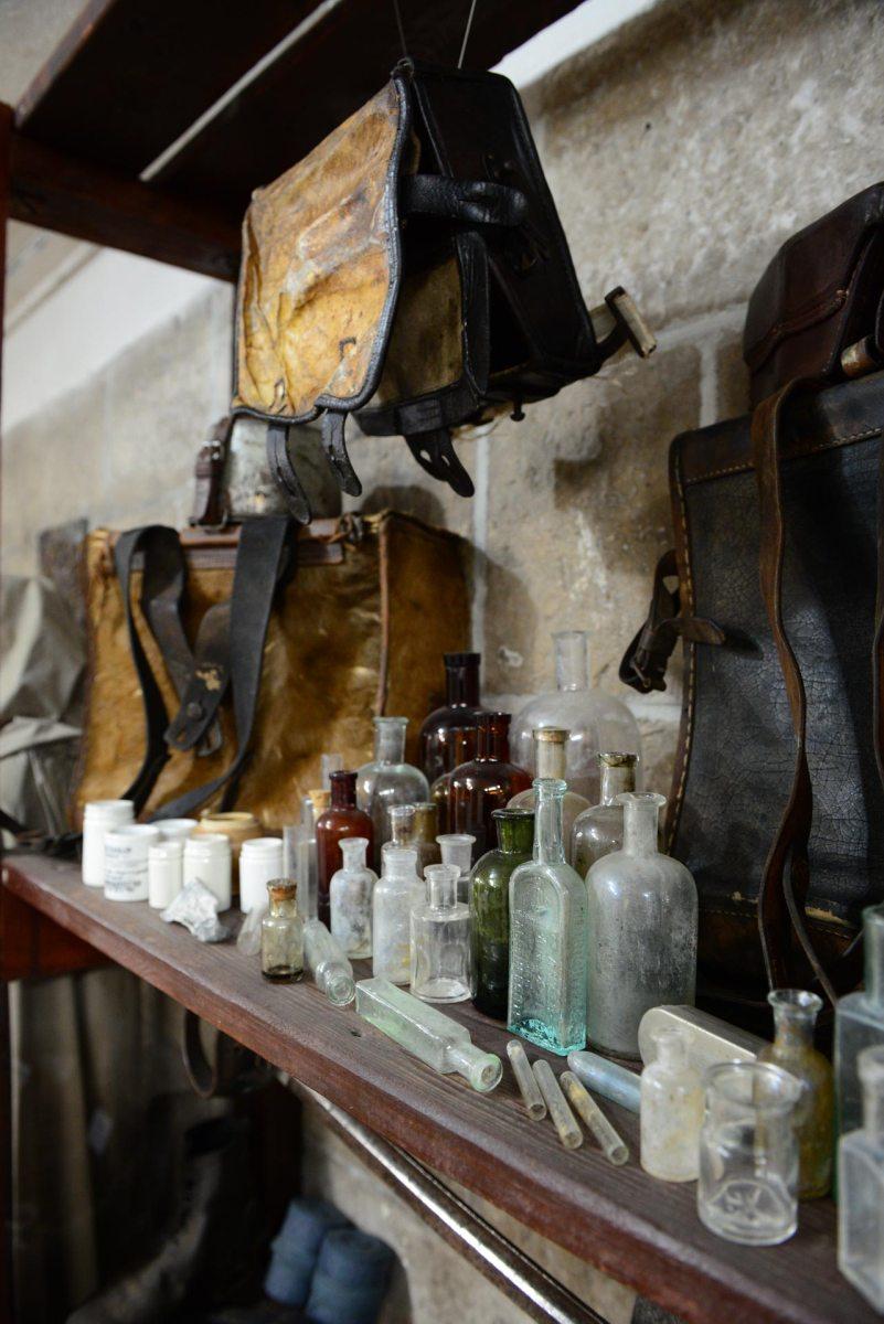 Plecaki i butelki medyczne