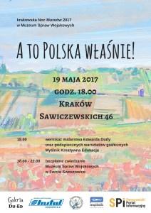 Krakowska Noc Muzeów 2017 w Muzeum Spraw Wojskowych