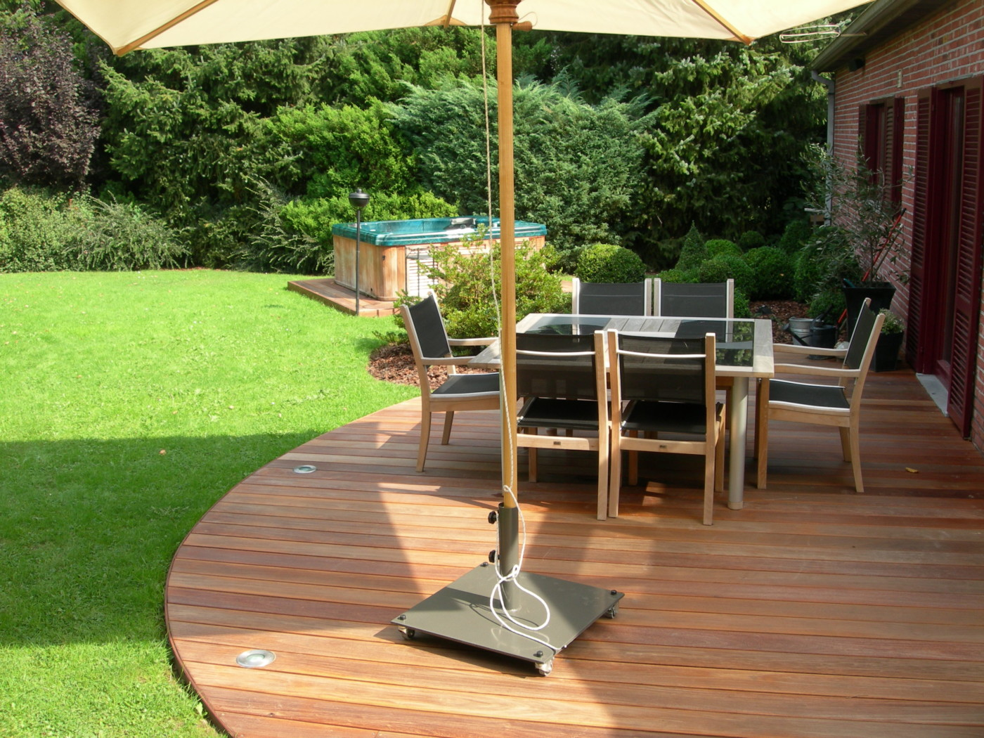 Terrasse Bois Arrondie Terrasses Arrondies En Bois - Mt-design