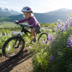 mountain biking with kids near crested butte