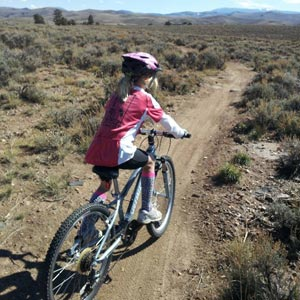 desert mountain bike trails at Hartman Rocks