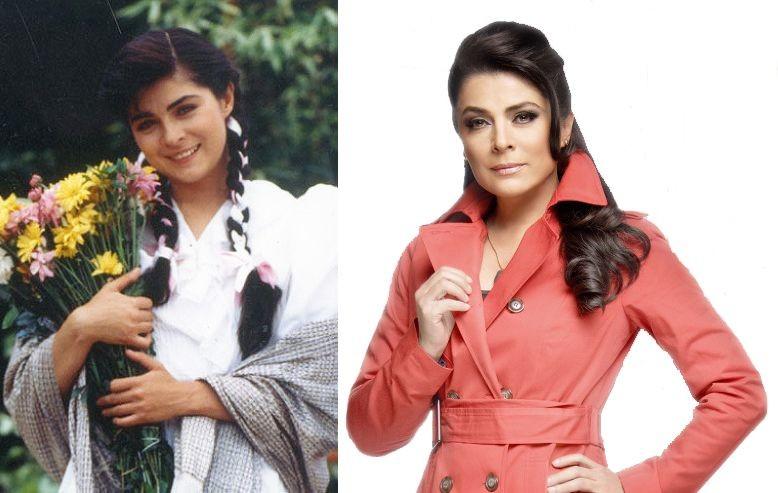 Сериал «Просто Мария»- Виктория Руффо (54 года) актриса, возраст, сериал