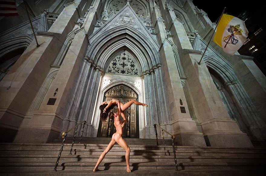 Обнажённые танцоры в фотографиях Джордана Мэттера 9