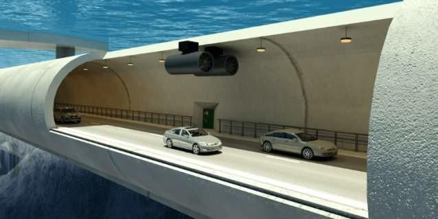 5. Подводные транспортные туннели Reired, прогноз, технологии