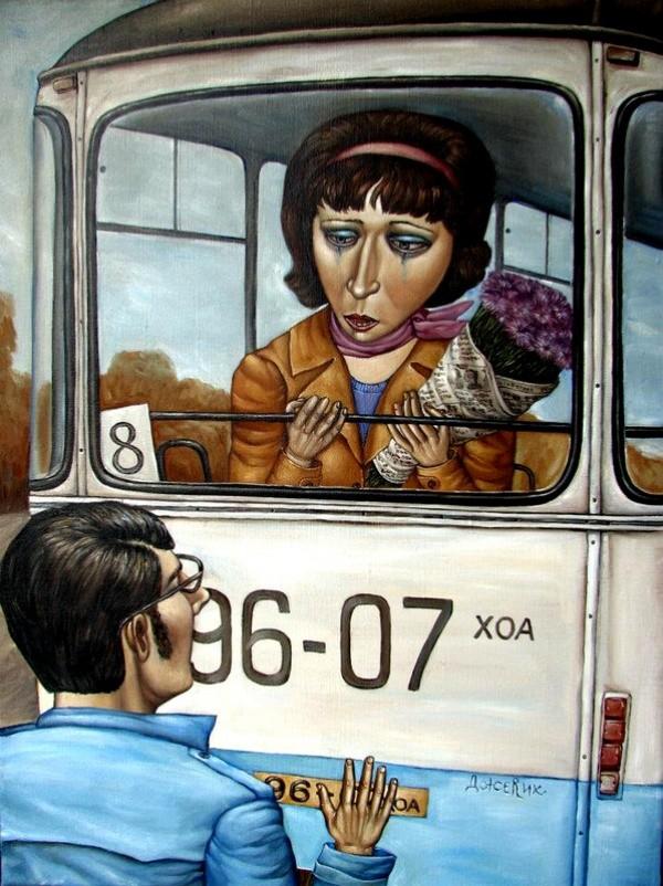 AngelaJerich09 Путешествие в СССР: картины художницы Анжелы Джерих