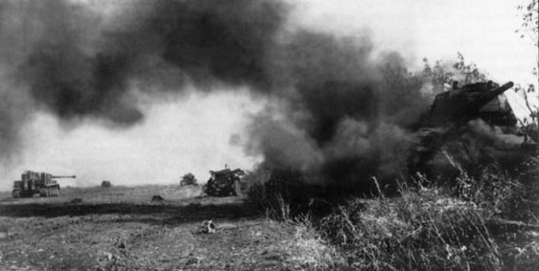 Курская битва. Фото величайшего танкового сражения битва, война, курская