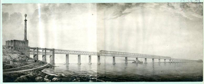 Сталинский проект моста через Керченский пролив 1949 года