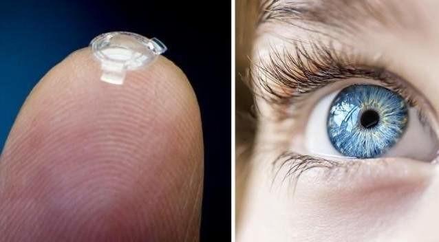 8. Бионическая линза для сверхчеловеческого зрения Reired, прогноз, технологии