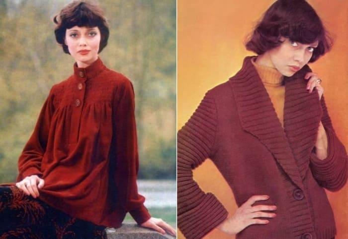 Елена Метелкина в советских журналах мод, 1976-1977 | Фото: elenametelkina.ru