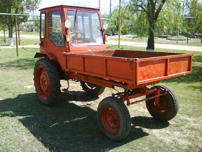 Легкий трактор Т-16. | Фото: gallery.ykt.ru.
