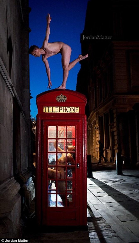 Обнажённые танцоры в фотографиях Джордана Мэттера 33
