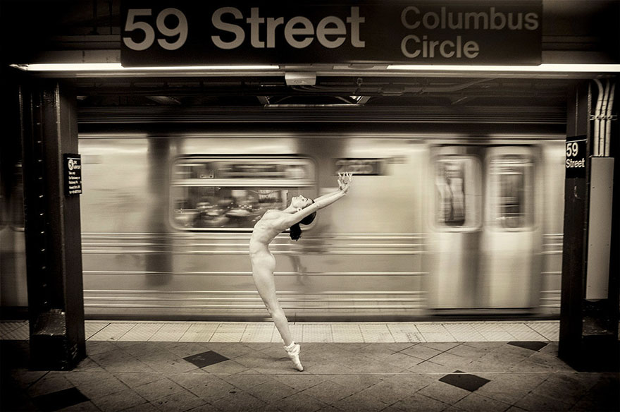 Обнажённые танцоры в фотографиях Джордана Мэттера 4
