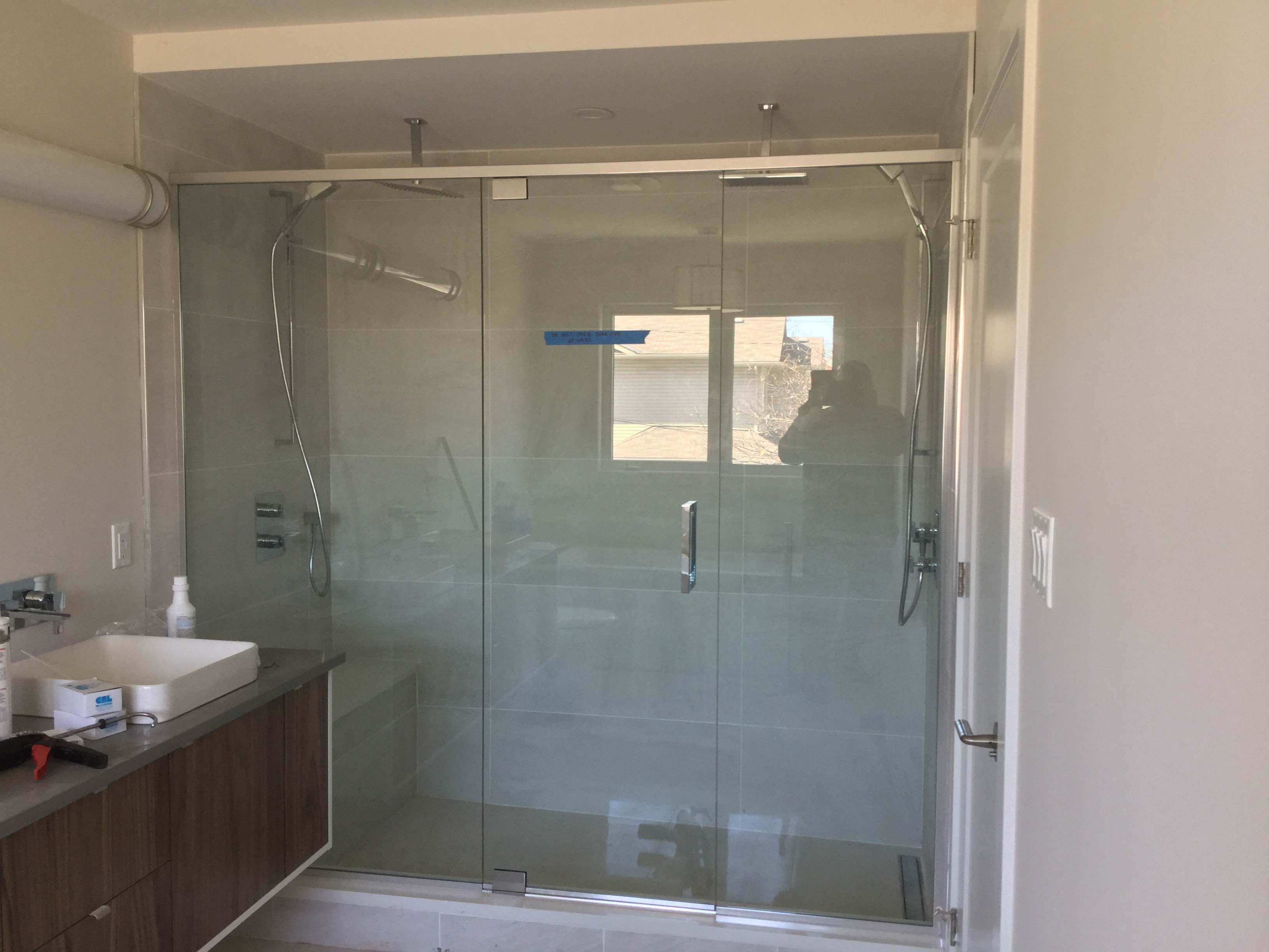 Custom Glass Custom Shower Doors And Enclosures M Andt Glass