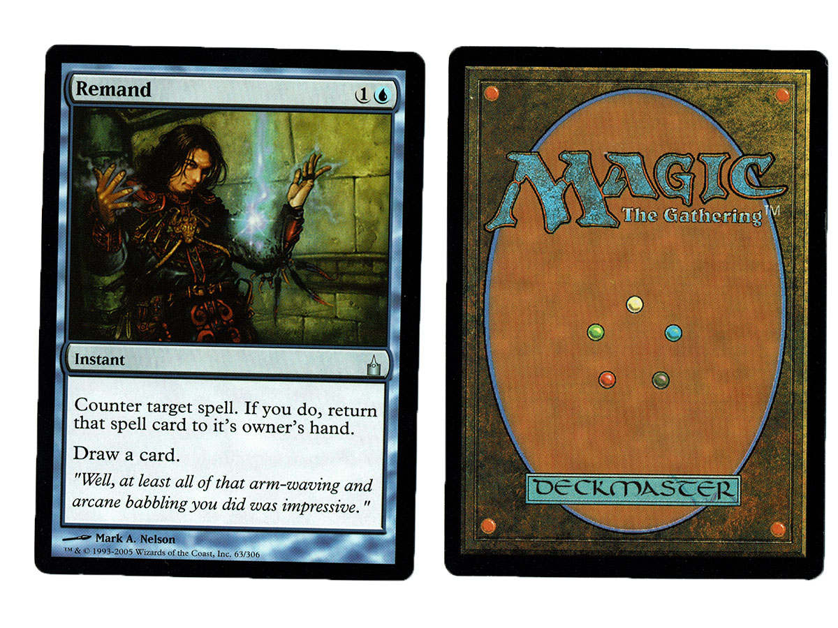 Mtg Online Shop Remand From Ravnica Magic The Gathering Mtg Proxy Card
