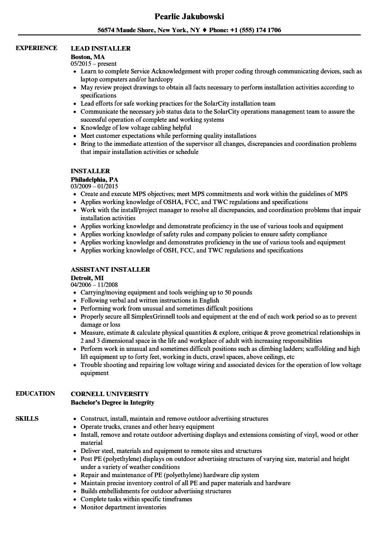 mt resume example