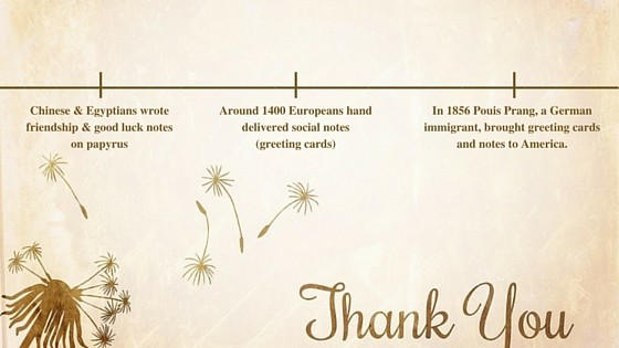 The History of Thank You Notes MTM Recognition Employee