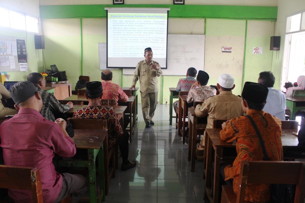 MGMP Sub Rayon 54 di MTsN 3 Malang