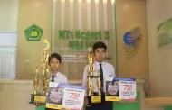 2 Siswa MTsN 3 Malang Raih Juara Pada Kompetisi Para Juara se-Jatim