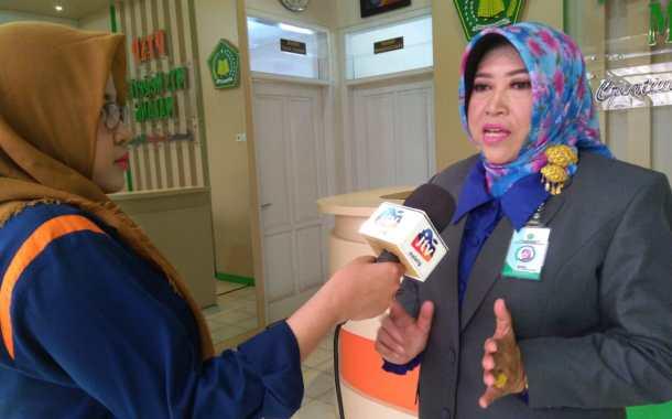 Pelepasan 347 Peserta Didik, Kamad MTsN 3 Malang Sekaligus Launching PTSP