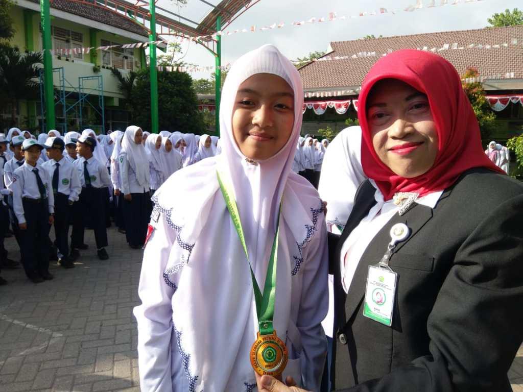 Nadhirah Shifa, Juara 3 pada Porprov Jawa Timur Cabor Panahan