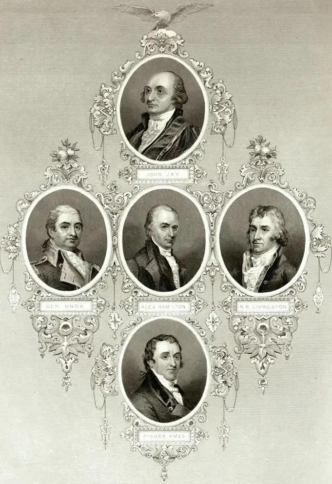 Jefferson and Hamilton, Political Rivals · George Washington\u0027s Mount