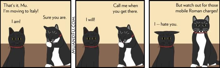 Cat Comic Italy