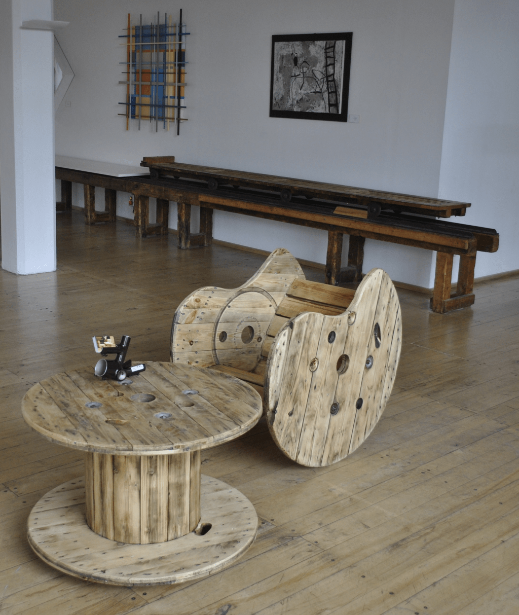 Couchtisch 70 X 70 Upcycling - Recycling Möbel Im Industrie & Vintage Style