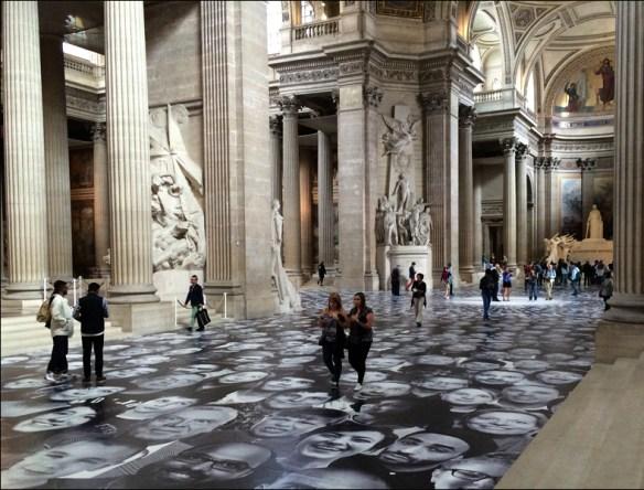 The Panthéon; now photographer's heaven; pic: Cynthia Rose