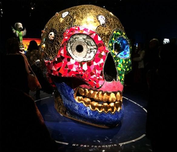 Death's head, Niki de Saint Phalle; pic; Cynthia Rose